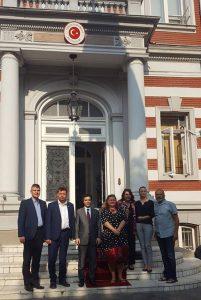 Romanian journalists to Turkish embassy 1234