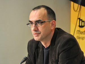 Dinko Gruhonjic, a journalist. Photo: Media Centre Belgrade