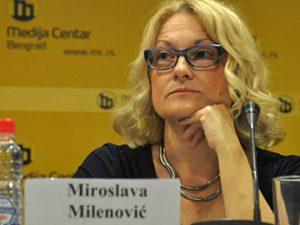 Miroslava Milenovic, member of Serbia's Anti–Corruption Council. Photo: Media Centre Belgrade